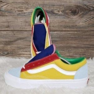 New Vans Style 36 Sunshine Multicolor Sneakers